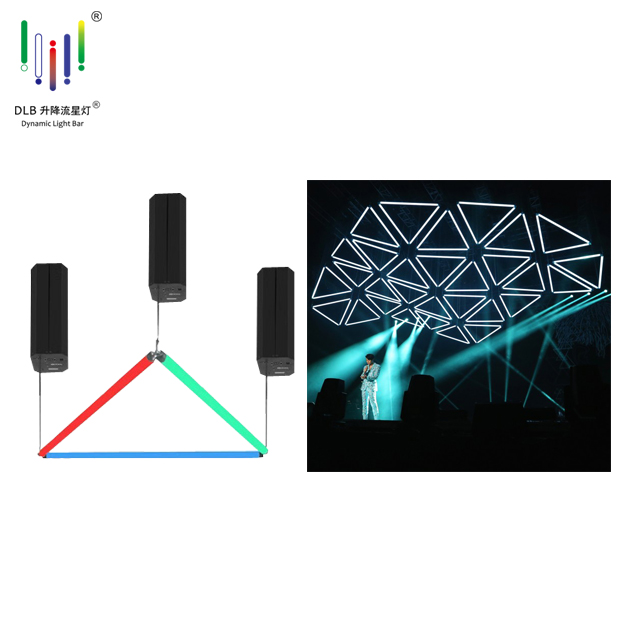 Lifting LED tube kinetic sculpture kinetic stage lights Featured Image
