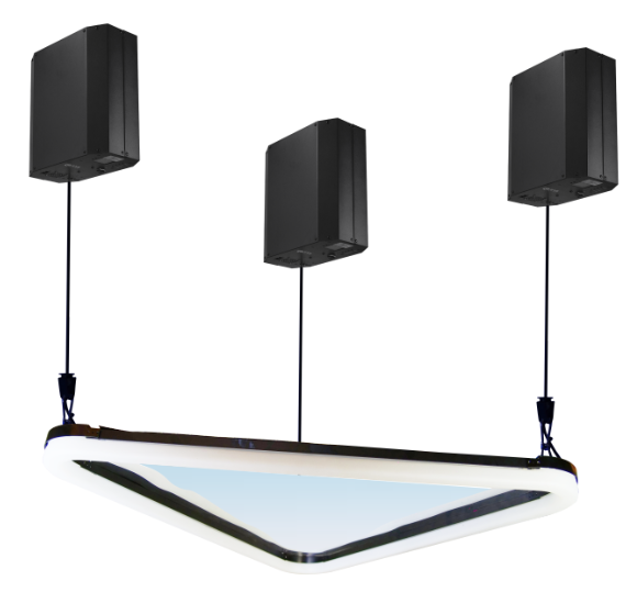 DLB Kinetic Mirror Curved Triangle Featured Image