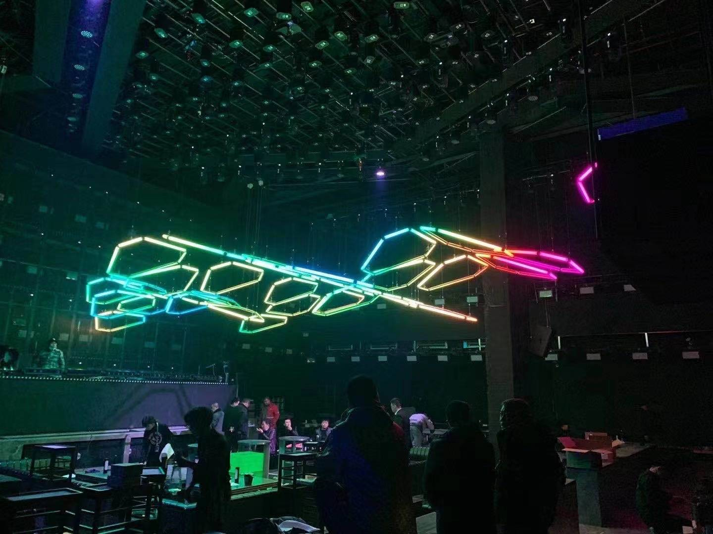 SUPER HOUSE CLUB WITH Club lights solution